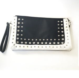 Studded Combo Crossbody  / Clutch Bag